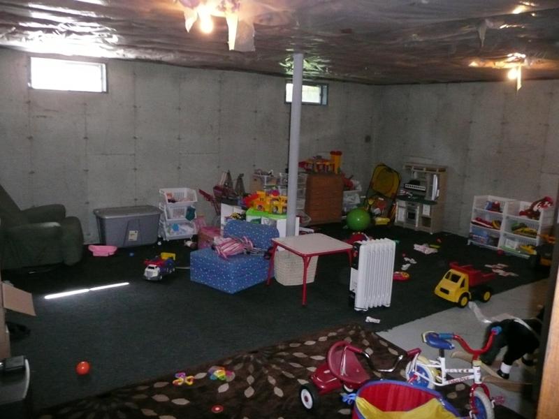 Playroom / Basement (messy)