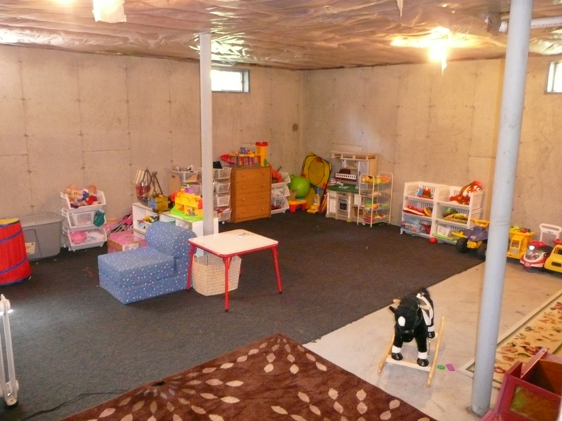 Playroom / Basement (clean)