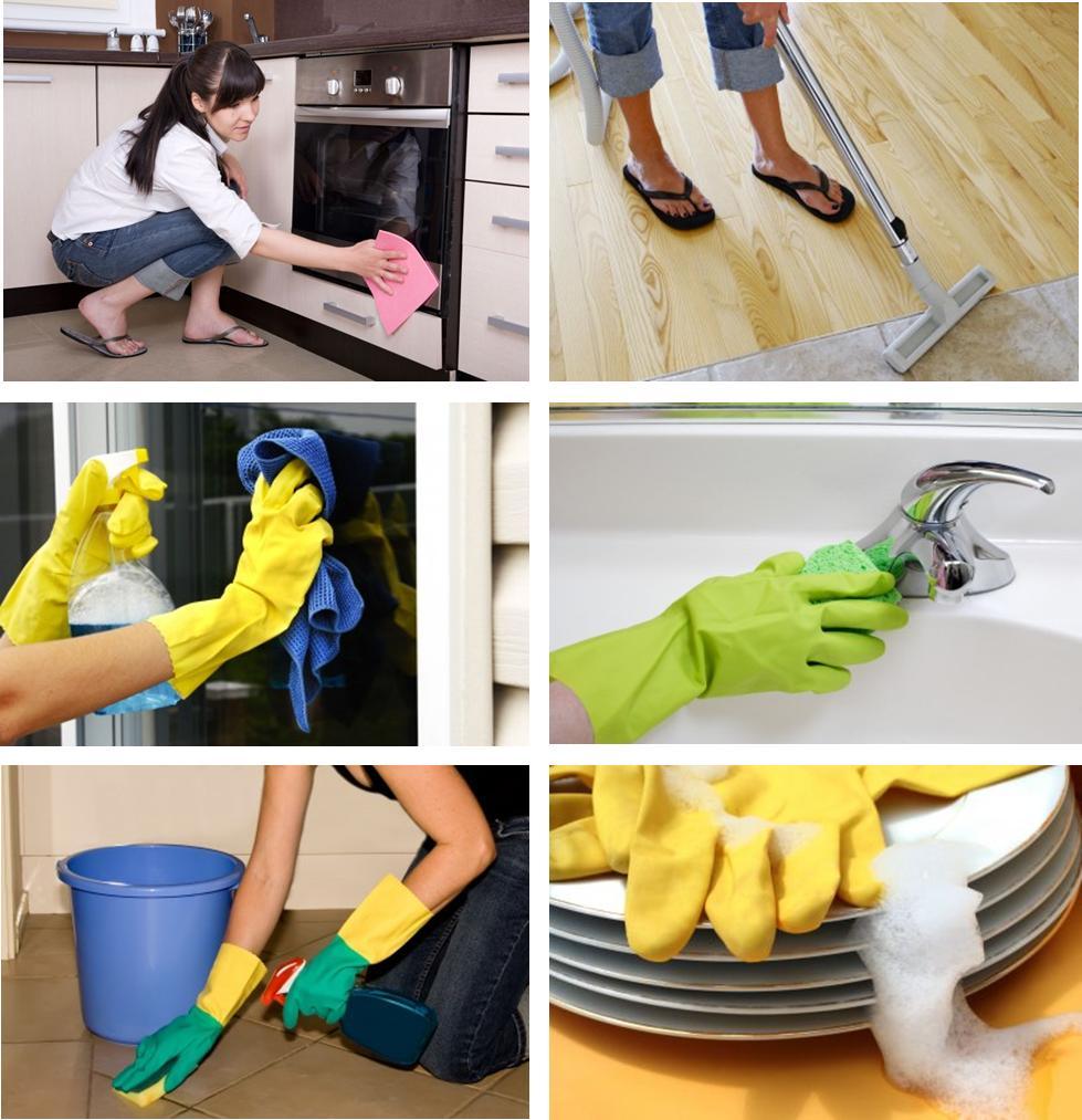 Как лучше сделать уборку в квартире