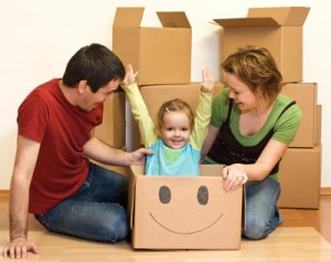 Making the Family Move as Stress Free as Possible for the Children