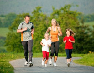 family_exercise_together
