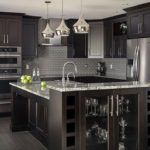 The Delectable Dark: 6 Tips For Designing A Hauntingly Beautiful Black Kitchen