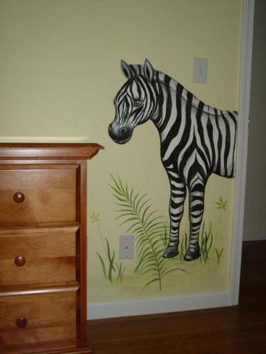 cartoon-zebra-mural-baby-nursery-bradenton-florida