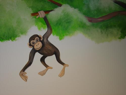 chimpanzee-hanging-tree-mural-bradenton-florida