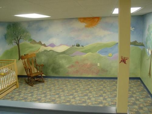 church-nursery-landscape-mural-kids-bradenton-florida