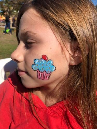cupcake_face_paint_bradenton_florida_paintermommy