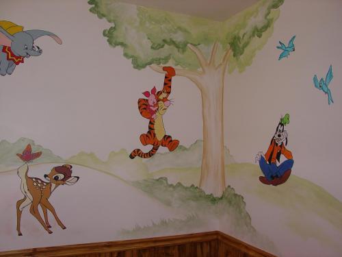 disney-characters-wall-mural-bradenton-florida