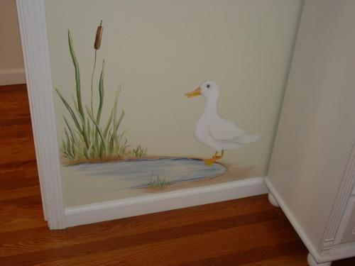 duck-pond-mural-painting-bradenton-florida