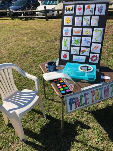 face_paint_table_bradenton_florida_paintermommy