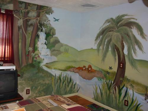 jungle-themed-wall-mural-bradenton-florida