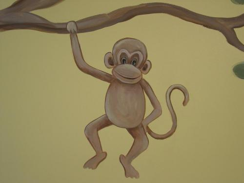 monkey-closeup-mural-painter-bradenton-florida