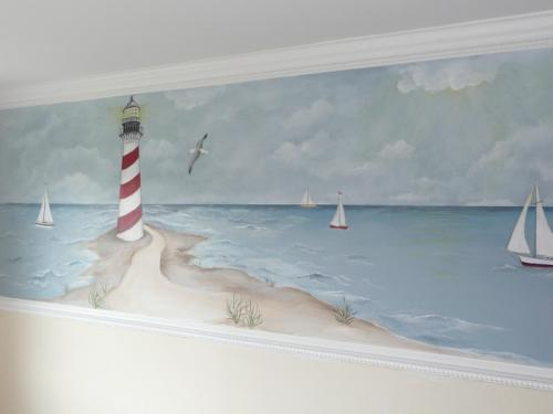 nautical-lighthouse-sea-sailboats-wall-mural-bradenton-florida