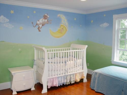 nursery-rhyme-cow-jumped-over-moon-mural-2-baby-nursery-bradenton-florida