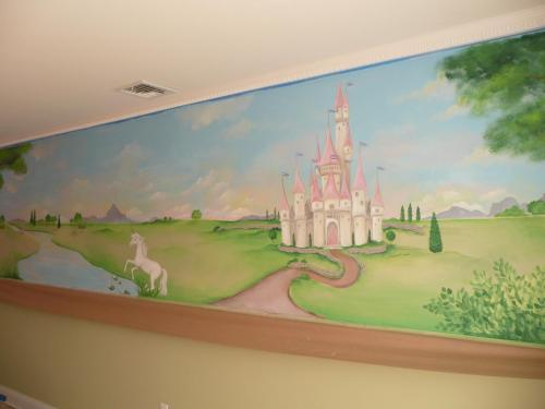 princess-castle-nursery-mural-bradenton-florida