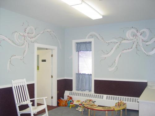 ribbon-mural-church-nursery-bradenton-florida