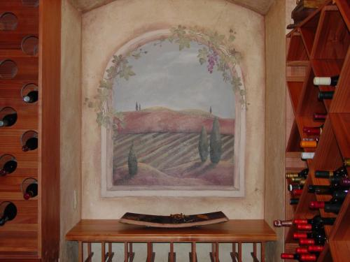 tuscan-inspired-wine-cellar-wall-mual-bradenton-florida