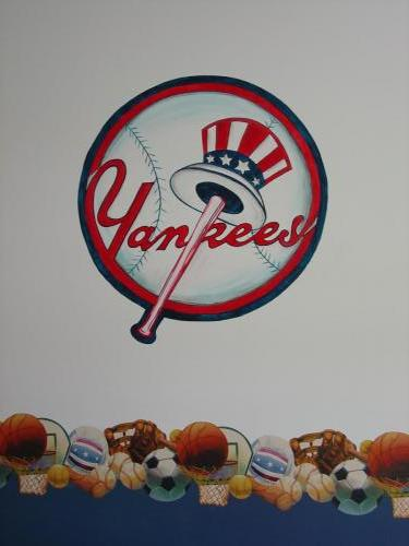 yankees-baseball-wall-mural-kids-bradenton-florida